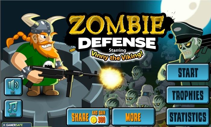 online zombie defense games