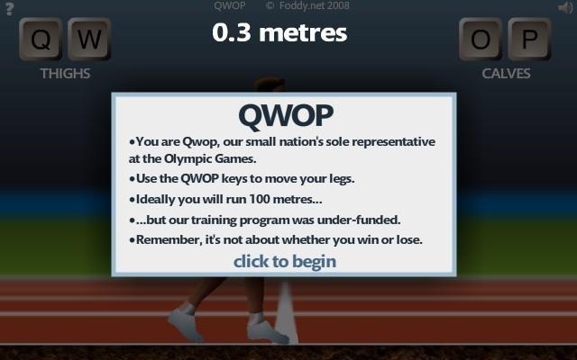 Qwop hacked cheats hacked online games qwop screenshot qwop screenshot ccuart Image collections