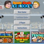 Sports Heads - Ice Hockey Screenshot
