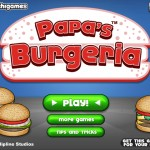 Papa's Burgeria Screenshot
