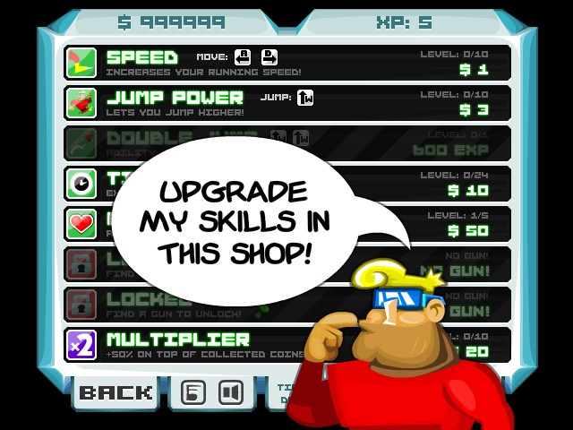 Johnny upgrade hacked cheats hacked online games