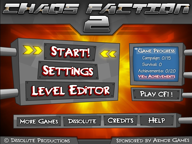 Chaos Faction 2 Hacked / Cheats - Hacked Online Games