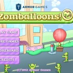 Zomballoons Screenshot