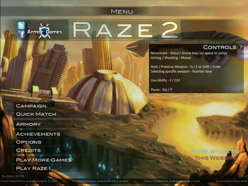 Raze 2 Hacked / Cheats  Hacked Online Games