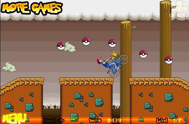 Pokemon bike hacked cheats hacked online games