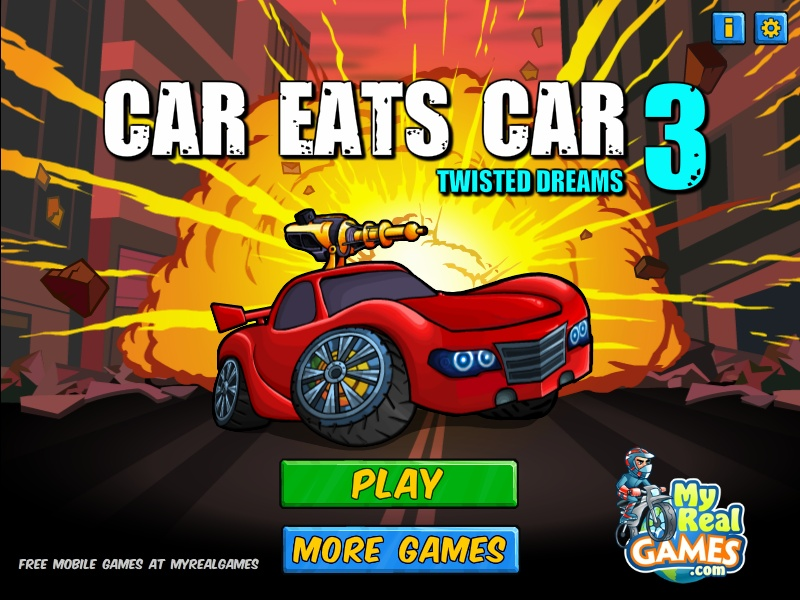 Car Eats Car 3 Hacked Cheats Hacked Online Games