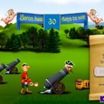 Baron Liar: Cannonball Ride Screenshot