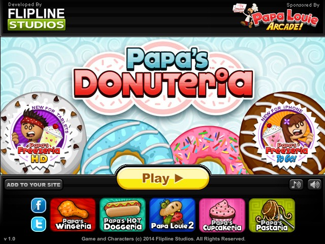 Papa s donuteria hacked cheats hacked online games