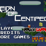 Reign of Centipede Screenshot