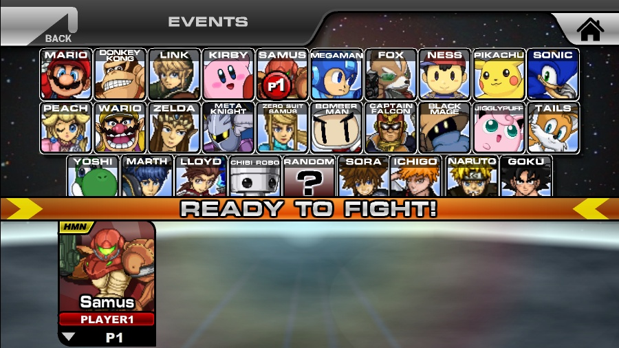 games super smash flash