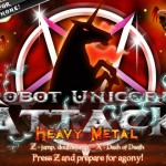 Robot Unicorn Attack: Heavy Metal Screenshot