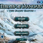 Heroes of Mangara - The Frost Crown Screenshot