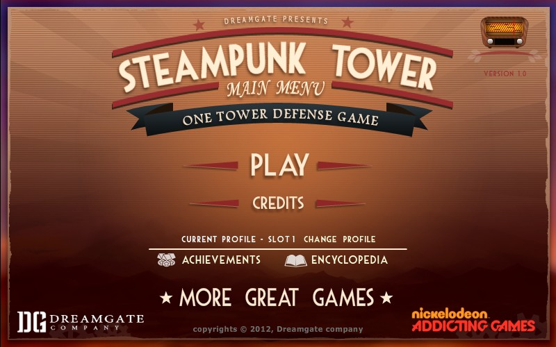Steampunk Tower Hacked / Cheats - Hacked Online Games  Steampunk Tower...