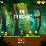 Jo & Momo - Forest Rush Screenshot