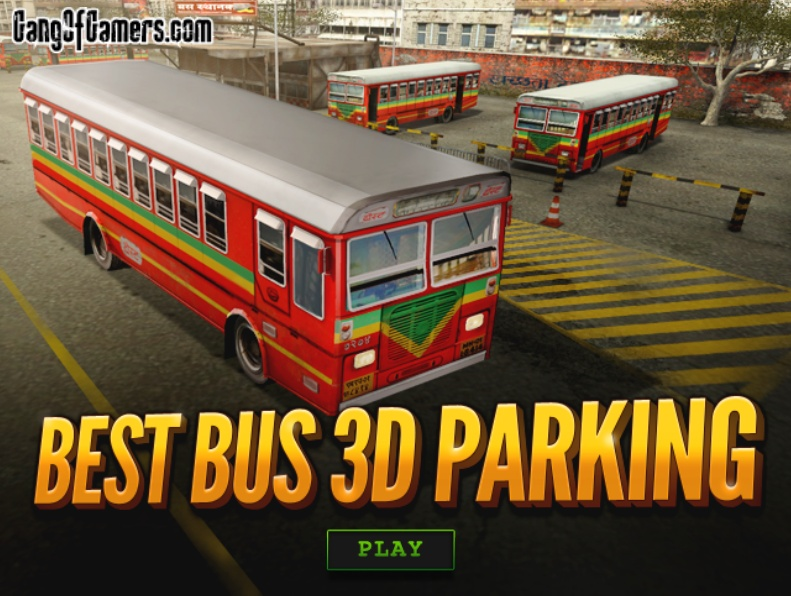 Bus Parking 3D Game Play Online Free Now