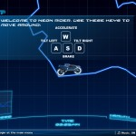 Neon Rider World Screenshot