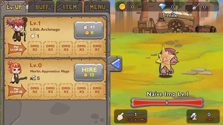 Undead Clicker: Tapping Rpg hacked Hacked / Cheats - Hacked