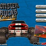 Monster Trucks Attack! Screenshot