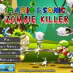 Mario and Sonic Zombie Killer Screenshot