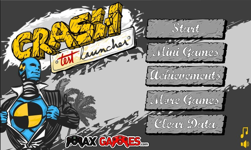 crash test launcher game