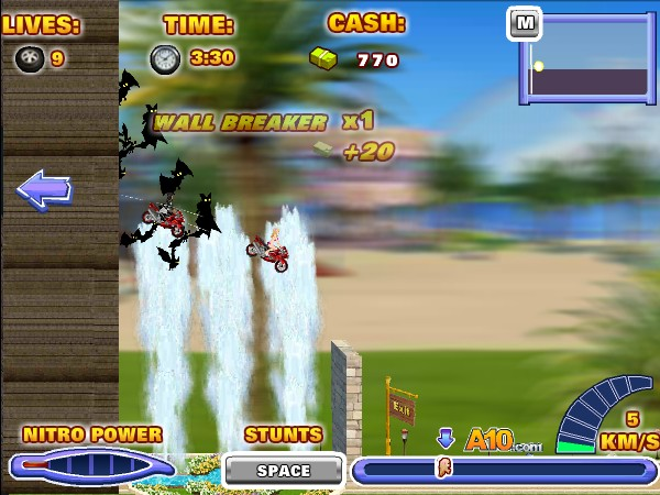 Uphill rush 6 hacked cheats hacked online games