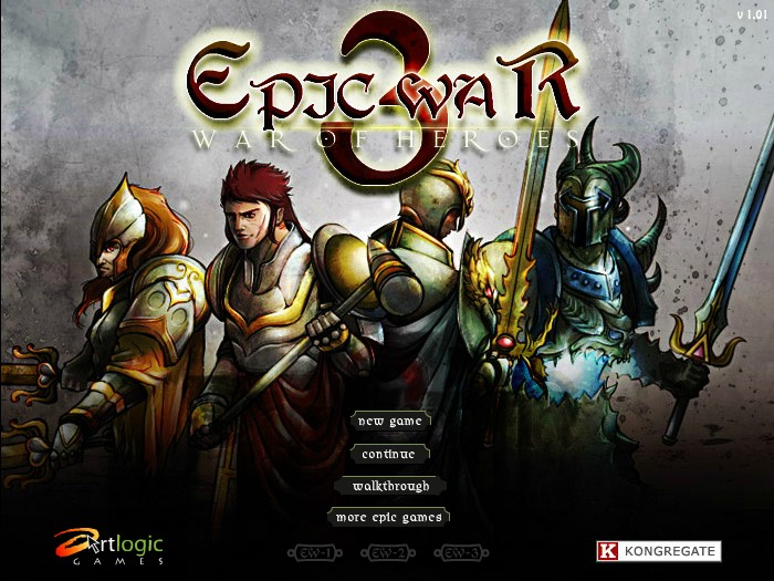 Epic war 3 war of heroes hacked cheats hacked online games