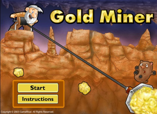 gold miner game 2 player english hacked