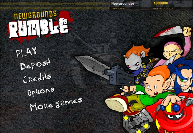 Newgrounds rumble - weird glitch - YouTube