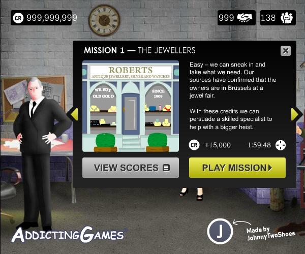 heist hacked online games