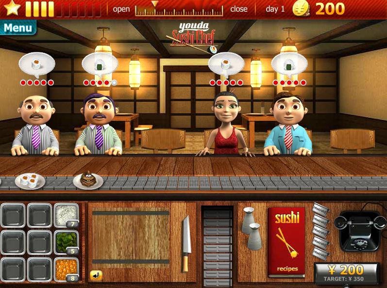 Sushi Game Online