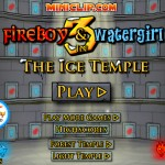 FireBoy and WaterGirl 3 - The Ice Temple Screenshot