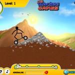Stickman Mountainboard Screenshot