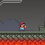 Mario Combat Screenshot