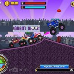 Monsters Wheels Screenshot