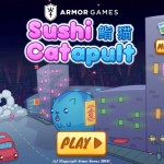 Sushi Cat-a-pult Screenshot
