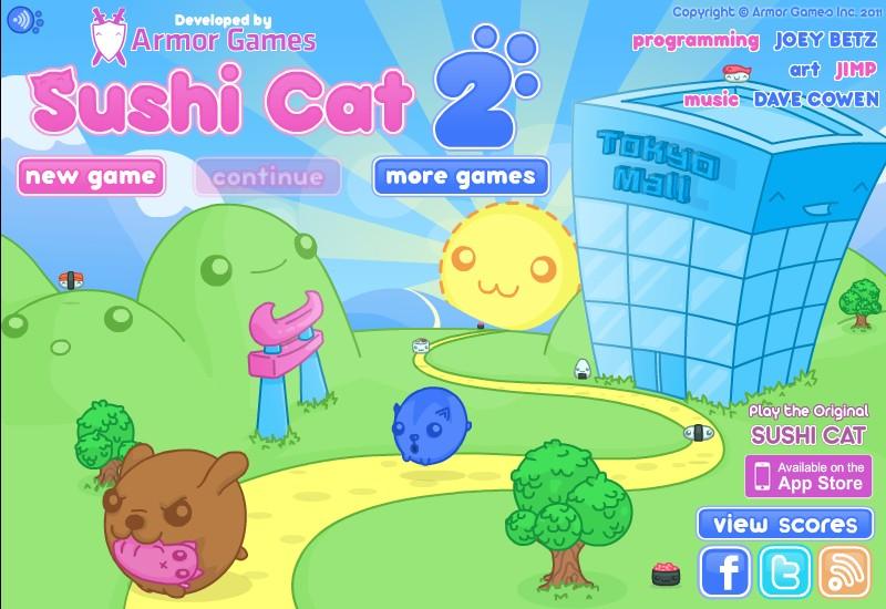sushi cat 2 unblocked hacked
