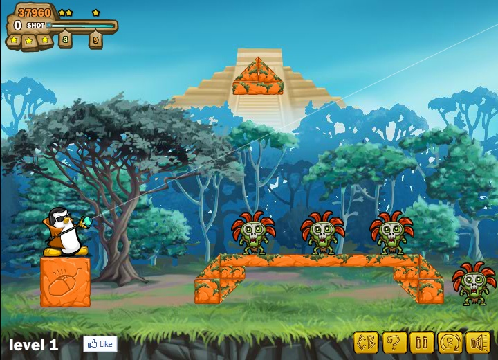 zombies vs penguins 2 hacked cheats hacked online games