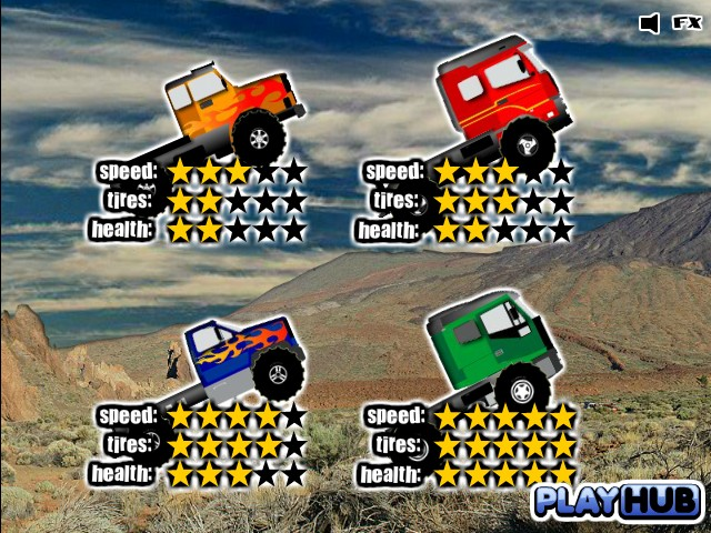 Truck Mania 2 - Free Online Racing games
