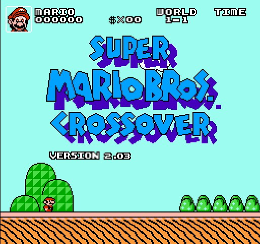 hacked free games super mario crossover 2