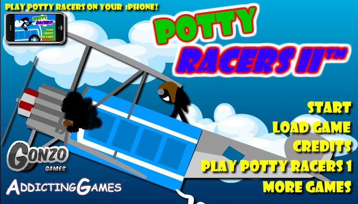 Potty Racers 2 Unblocked Hacked
