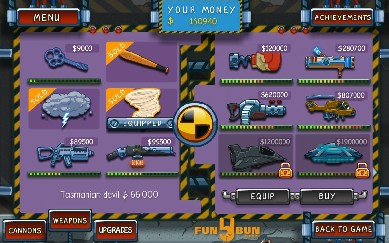 Canoniac Launcher Hacked / Cheats - Hacked Online Games