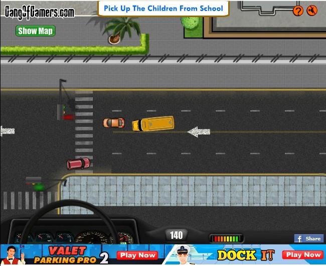 school bus online games