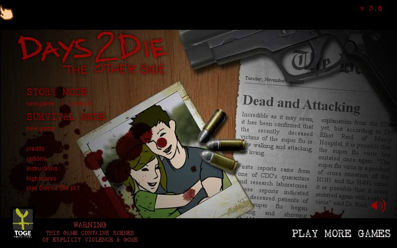 Days 2 die the other side hacked cheats hacked online games