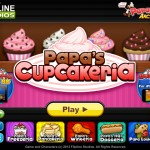 Papa`s Cupcakeria Screenshot
