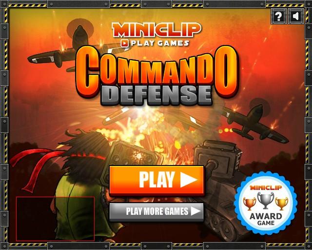 Commando Rush first level in 40 seconds