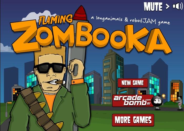 flaming zombooka hacked cheats hacked online games