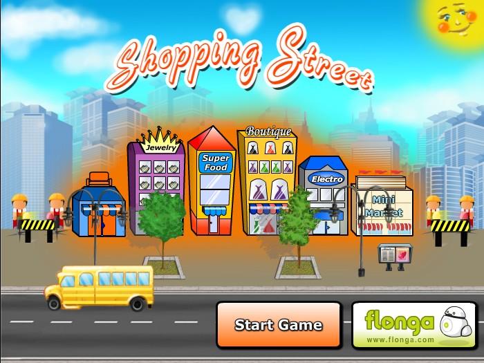 Go shopping games online