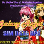 Galaxy Angel - Sim Date RPG Screenshot