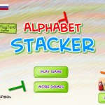 Alphabet Stacker Screenshot