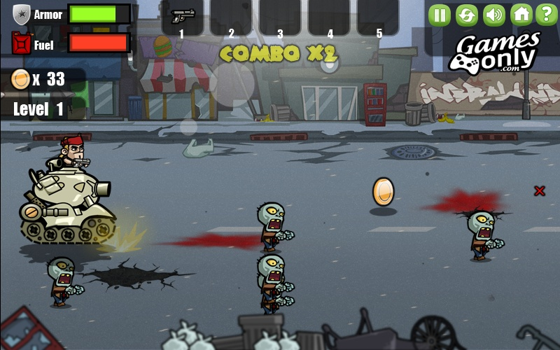 slash zombies rampage hacked cheats hacked online games